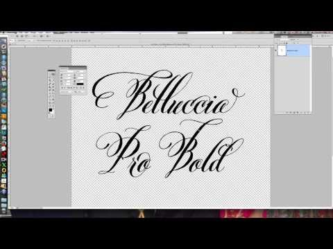How to work with Open Type in Photoshop