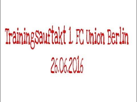 Trainingsauftakt 1. FC Union Berlin mit Jens Keller Saison 2016/2017 - 26.06.2016