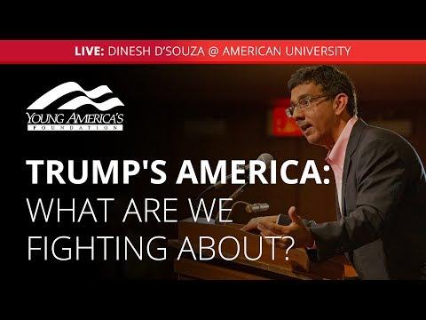 Dinesh D'Souza LIVE At American University