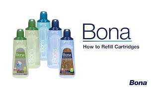 To Refill Your Bona Spray Mop Cartridge