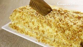 видео: Торт НАПОЛЕОН за 20 минут! Сразу 2 рецепта. Это самый быстрый торт в моей жизни!!!