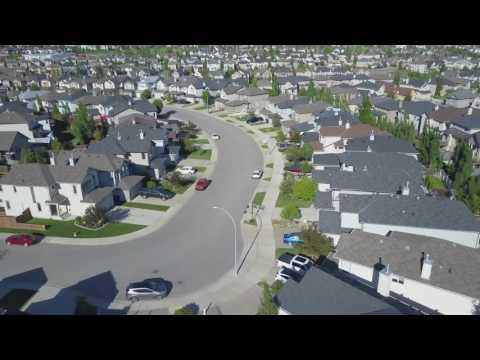DJI Mavic Pro - My First Drone Flight - Tuscany, Calgary, Alberta, Canada.