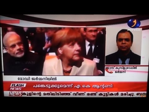 "Hannover Trade fair & India""s PM German visit ; Live Report by Jose Kumpiluvelil"