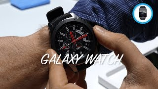 SAMSUNG GALAXY WATCH: anteprima da New York