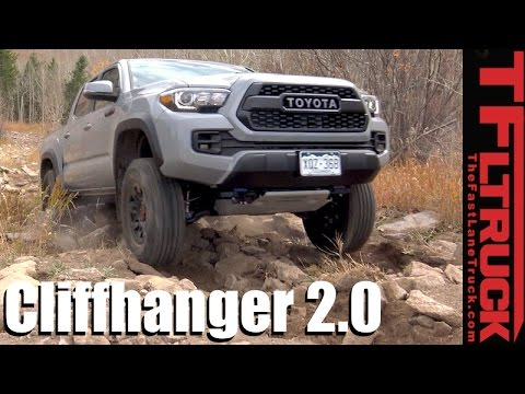 2017 Toyota Tacoma TRD Pro Takes on the Extreme Cliffhanger 2.0 Off-Road Review
