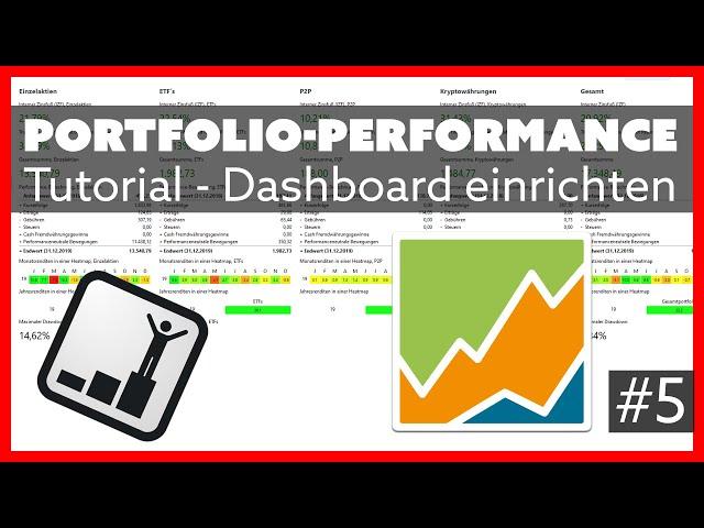 Performance Dashboard einrichten - Portfolio Performance Tutorial #5