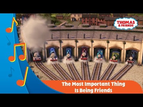 Kereta Thomas & Friends Indonesia : Karaoke - The Most Important Things Is Being Friends