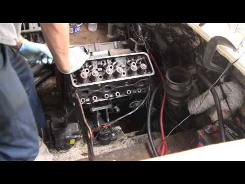 MAJOR BOAT ENGINE REPAIR (part 2)