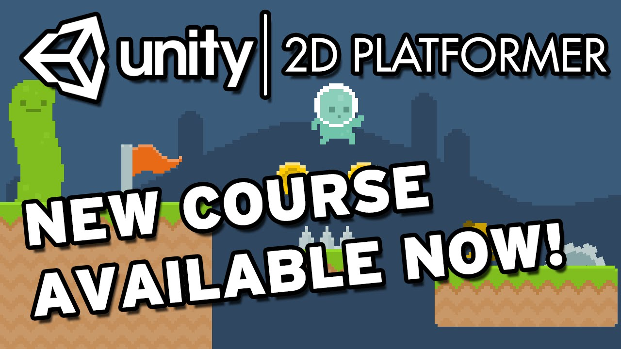 e10611afaa0b AVAILABLE NOW! New Unity 2D Platformer Course on Udemy! - YouTube