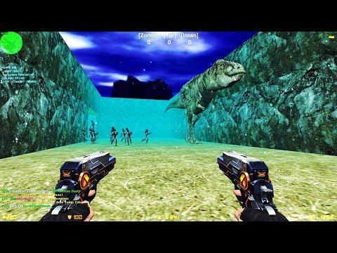 Counter-Strike: Zombie Escape Mod - ze_Isla_Nublar_Level4_final [NEW