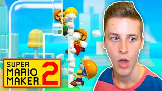 TROLLED by the Nuttiest Multiplayer Versus Levels in Mario Maker 2