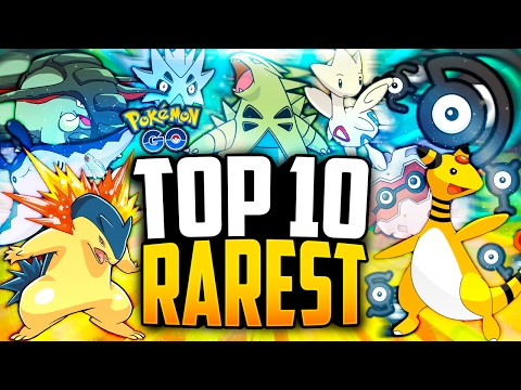 Pokemon Go - The Top 10 RAREST Generation 2 Pokemon in Pokemon Go!