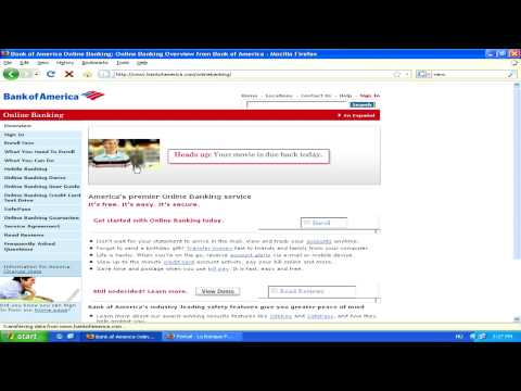 Internet & Web Site Tips : About Online Banking