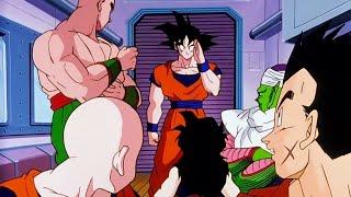 DRAGON BALL Z: goku fa una sorpresa a i suoi amici-in italiano