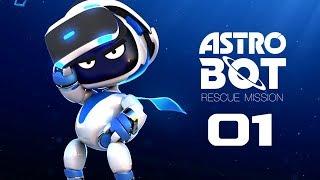Astro Bot Rescue Mission mit Simon, Lisa, Arno & Sandro #01
