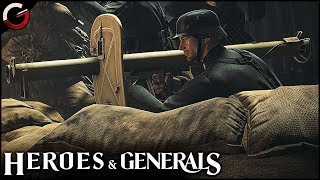 TANK HUNTER! Anti-tank Rocket Launcher in Action | Heroes & Generals Gameplay