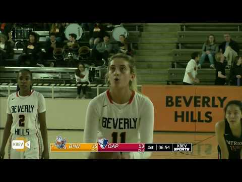 BEVERLY HILLS VS. OXFORD ACADEMY CIF STATE PLAYOFF GAME