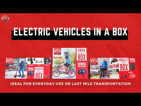 Daymak Announces Its New Electric Vehicles in a Box Line-Up