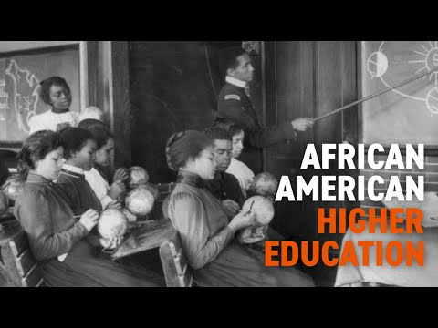 African American Higher Education