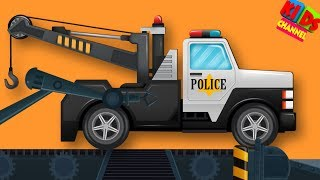 Police Toy Factory | Toy Videos For Toddlers | Children's Videos by Kids Channel