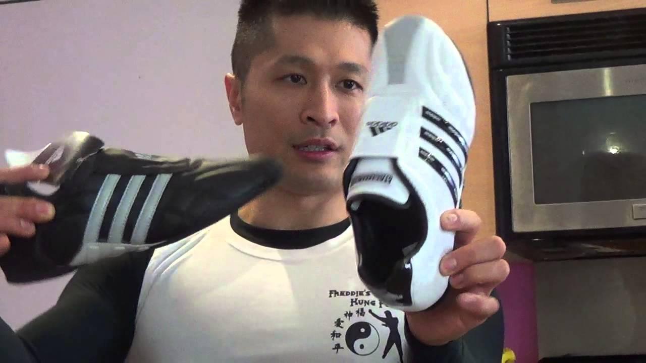 new white adidas audilux arte marziale scarpe sono fantastiche!prodotto