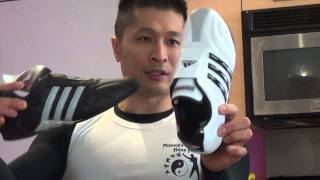 New White Adidas Audilux Martial Art Shoes Are Awesome! - Product Review