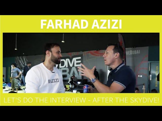Farhad Azizi on