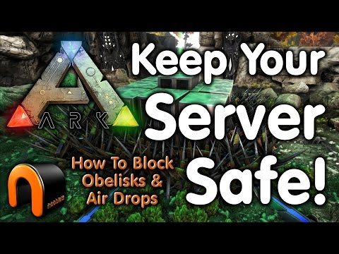 ARK: HOW TO KEEP YOUR SERVER SAFE!