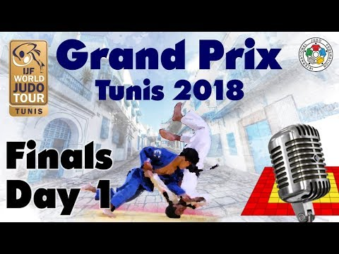 Judo Grand-Prix Tunis 2018: Day 1 - Final Block