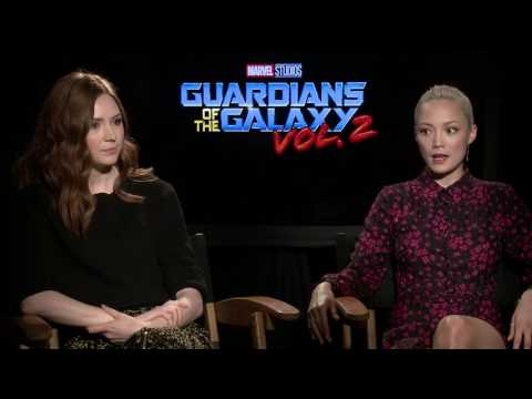Guardians of the Galaxy Vol. 2: Karen Gillan & Pom Klementieff Interview