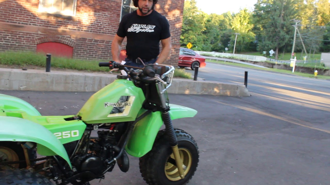 1984 Kawasaki KXT250 Tecate 3 For Restoration! - YouTube