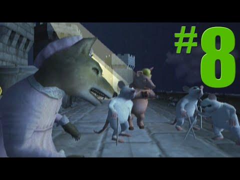 Shrek 2: Game Walkthrough Part 8  Prison Break  No Commentary Gameplay GamecubeXboxPS2