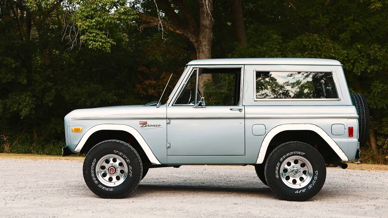 1977 ford bronco 55k original miles for sale youtube. Black Bedroom Furniture Sets. Home Design Ideas