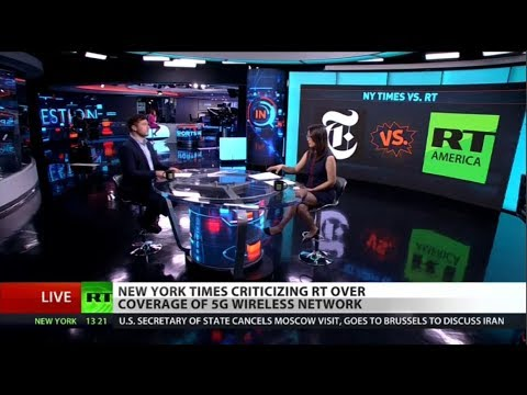 Verizon-funded NYT says RT's 5G cellphone coverage is fake news
