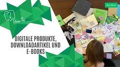 Digitale Produkte, Downloadartikel & eBooks: So geht's mit Billbee