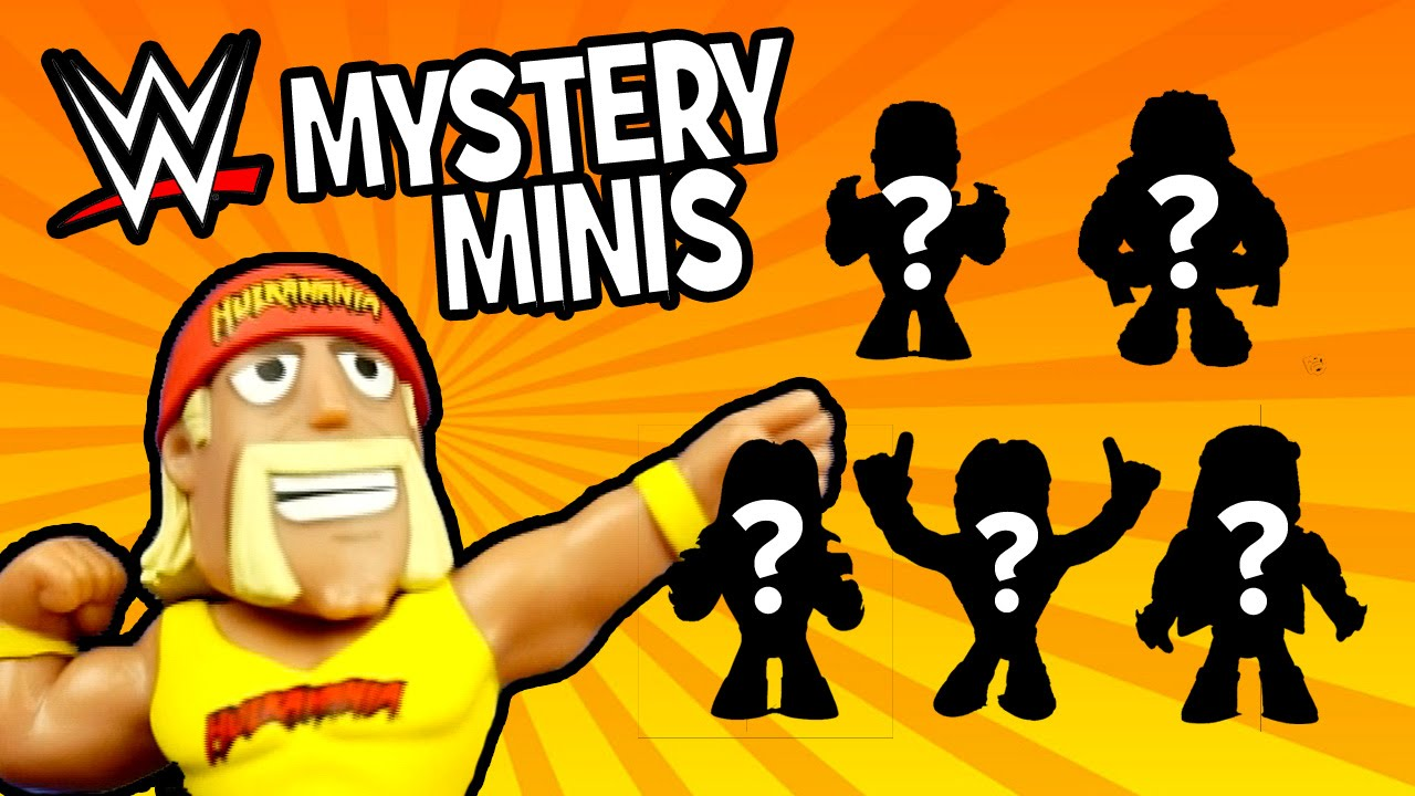 Download WWE Toys Opening - WWE Mystery Minis by Funko Pop & Hulk Hogan Toys   WWE Toys Blind Box by KidCity