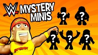 WWE Toys Opening - WWE Mystery Minis by Funko Pop & Hulk Hogan Toys | WWE Toys Blind Box by KidCity