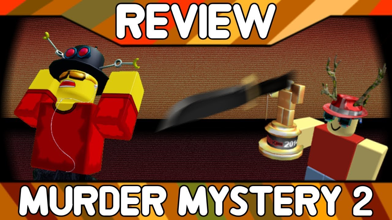 Murder Mystery 2 Roblox Game Review Youtube