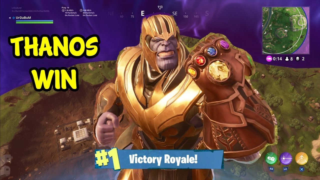 Thanos Punched Everyone Into A New Time Zone Fortnite Youtube