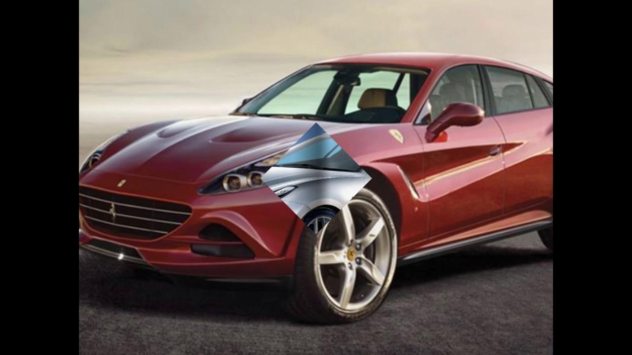 The New 2021 Ferrari Crossover Suv Concept