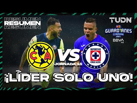 Resumen y goles | América vs Cruz Azul | Torneo Guard1anes 2021 BBVA MX J15 | TUDN