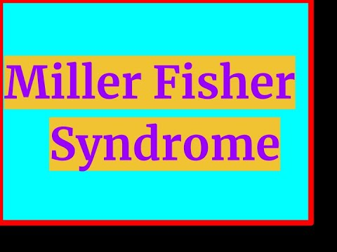 MILLER FISHER SYNDROME