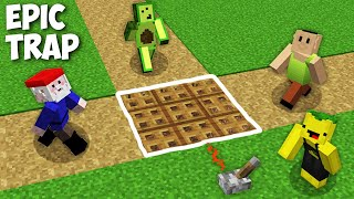 EPIC TRAP FOR HAMOOD or AVOCADOS FROM MEXICO or GNOME in Minecraft online !!!