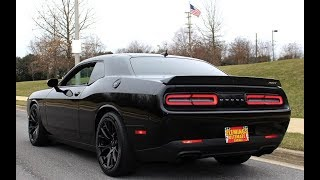 '16 Dodge Challenger SRT Hellcat for sale with test drive, driving sounds, and review video