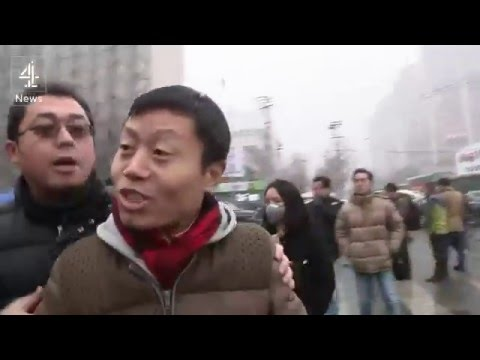 China's human rights lawyer on trial
