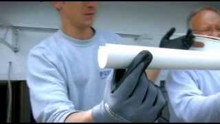 LIGHTLINE Edelstahl- Vordachsystem