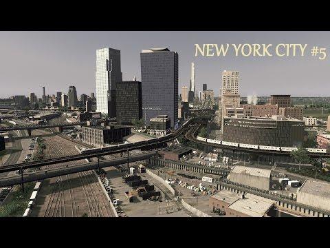 Cities Skylines : New York City - Long Island City  (Ep.5)