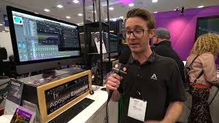 Apogee came to Winter NAMM 2018 with its new Dual-Path Effects Rack...