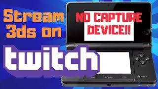 How to Stream and Record 3DS - WITHOUT CAPTURE CARD!