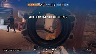 Rainbow Six Siege / Ranked 1 taps and Plays